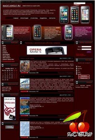 Шаблон мобильной тематики DLE