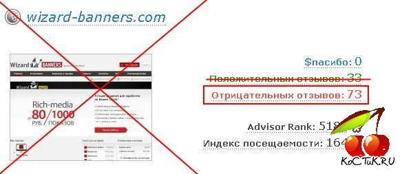 wizard-banners.com – кидалы