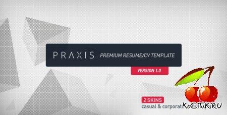 Praxis - Премиум Резюме