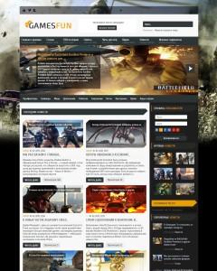 Шаблон GamesFun для DLE 11.1