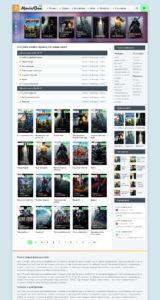 Шаблон MOVIEBOX Безупречный шаблон телесериалами и кино